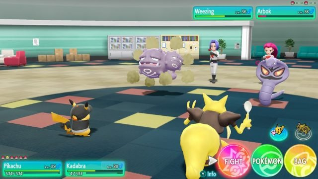 Pokemon Let's Go Support Trainer Co-Op
