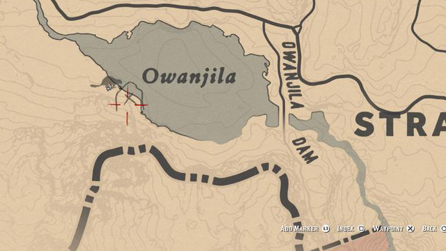 Red Dead Redemption 2 Rock Carvings - Location 1