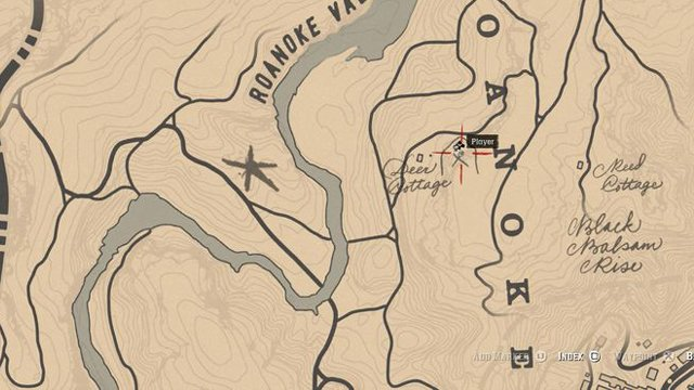 Red Dead Redemption 2 Rock Carvings - Location 10