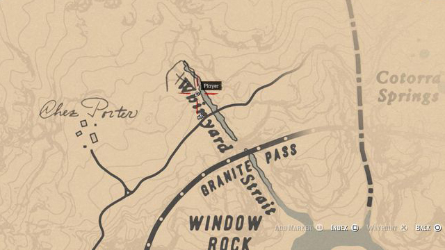Red Dead Redemption 2 Rock Carvings - Location 4
