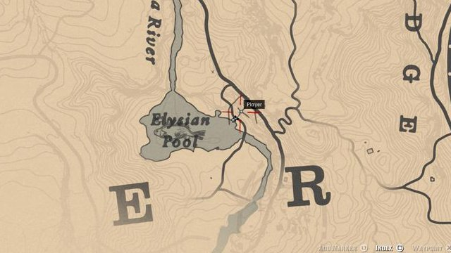Red Dead Redemption 2 Rock Carvings - Location 9