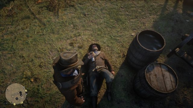 Red Dead Redemption 2 uncle