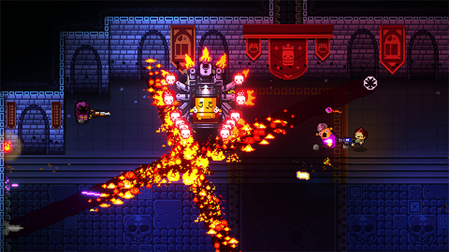 enter the gungeon roguelike