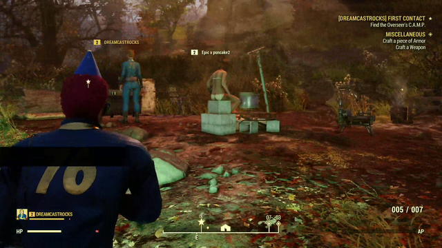 fallout 76 camp disappeared