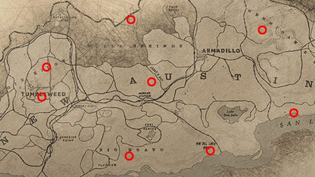 Red Dead Redemption 2 Dinosaur Bone Locations Gamerevolution