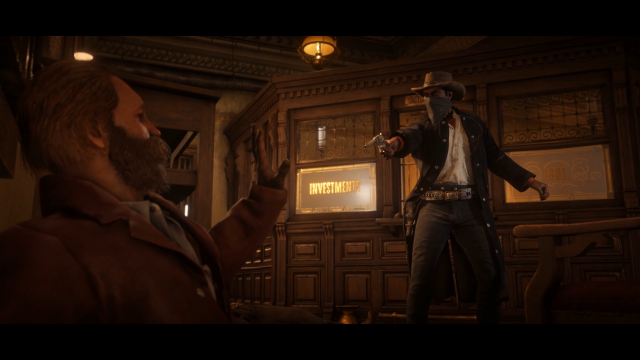 red dead redemption 2 npc robbery