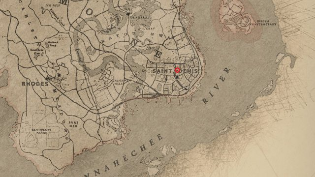 red dead redemption 2 timothy donahue location
