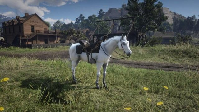 red dead redemption 2 white arabian horse breed
