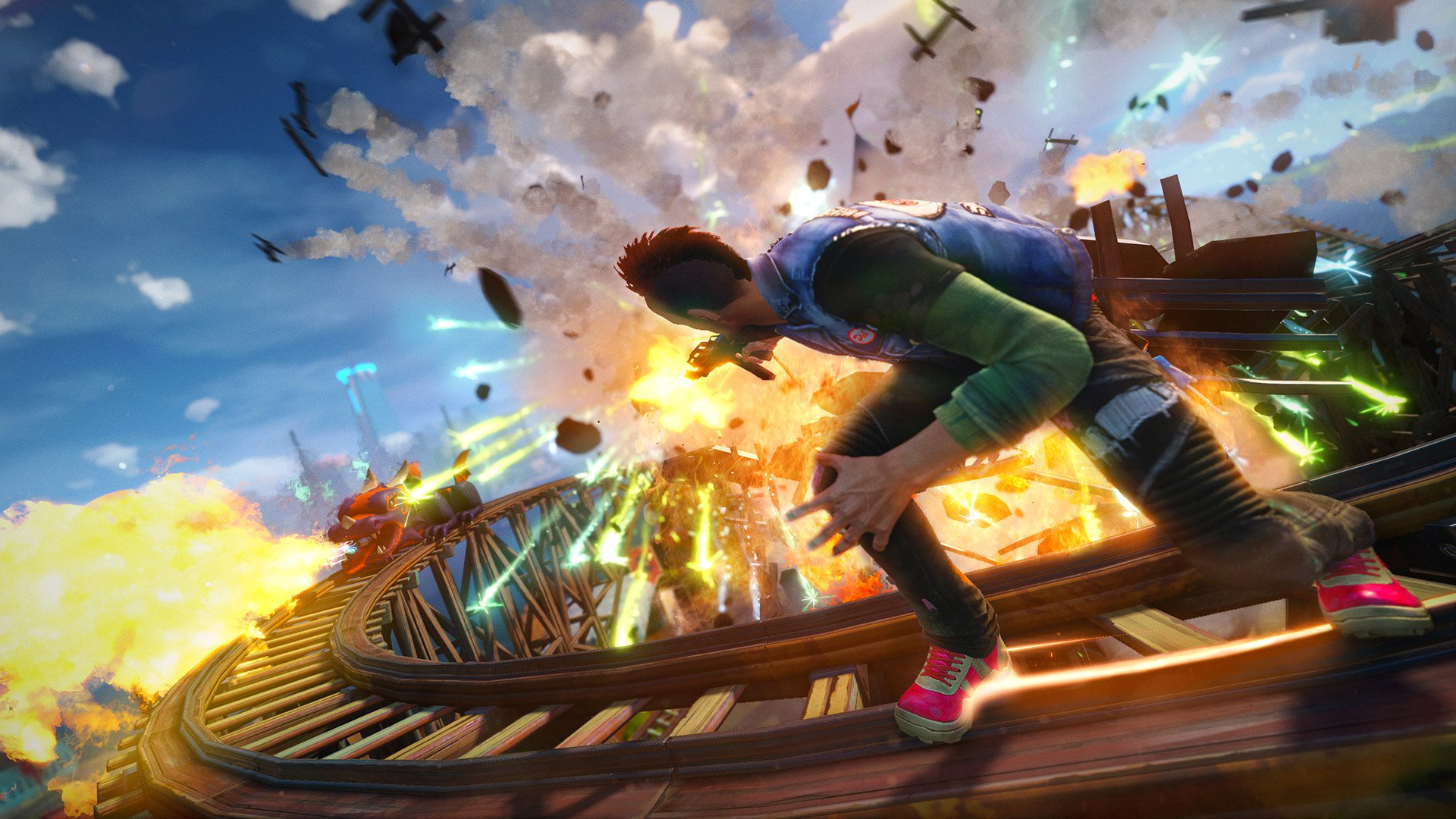 Sunset Overdrive PC could finally be happening.