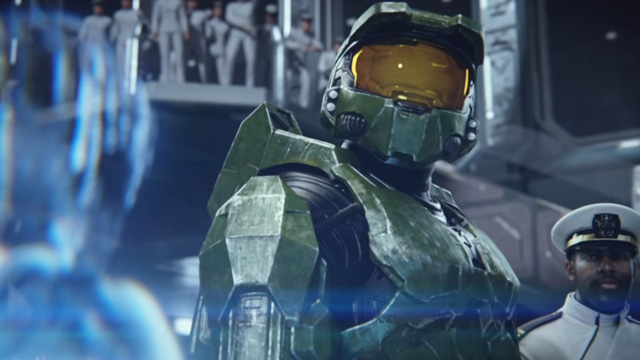 The Halo TV series will feature a live-action Master Chief.