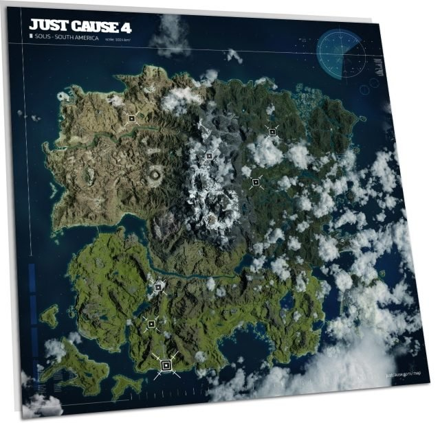Just Cause 4 Map