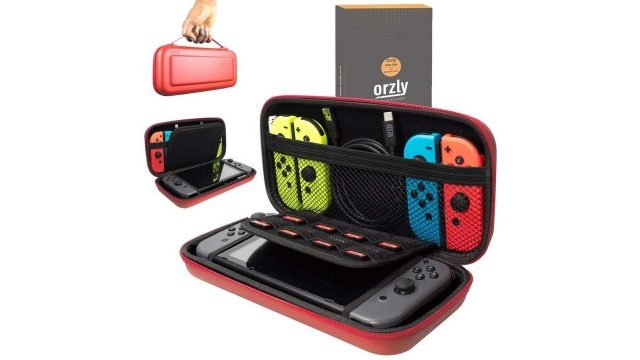 Orzly Nintendo Switch Carry Case Compatible With Nintendo Switch