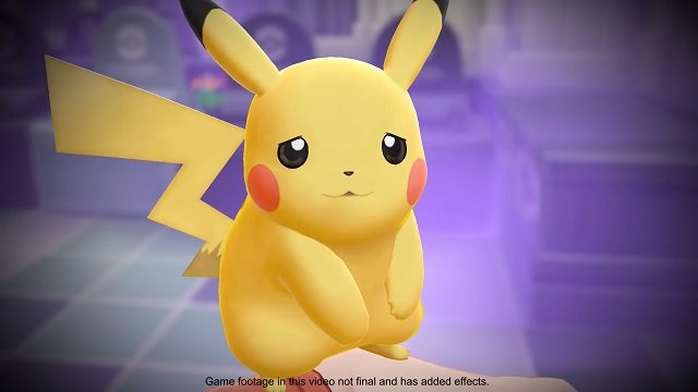 Pikachu in Pokemon Let's Go is cautiously optimistic about a new Pokemon mobile game.