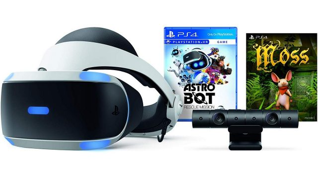 PlayStation VR Astro Bot Rescue Mission + Moss Bundle