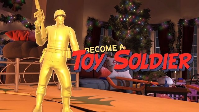 Rising Strm 2 Vietnam Christmas event toy soldier.