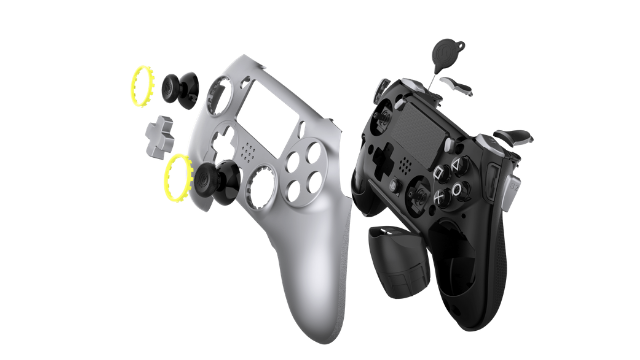 SCUF Vantage Review Controller Exploded