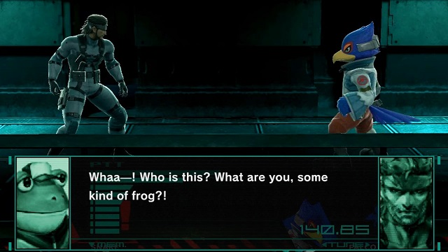Smash Ultimate Codec Conversations Slippy