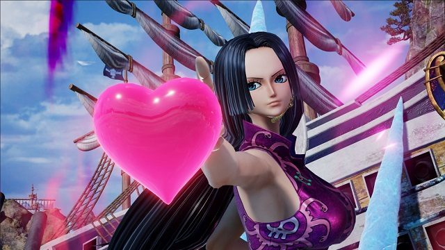 New Jump Force Characters include One Piece's Boa Hancock.