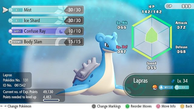 Pokemon Let S Go Lapras How To Get It Gamerevolution