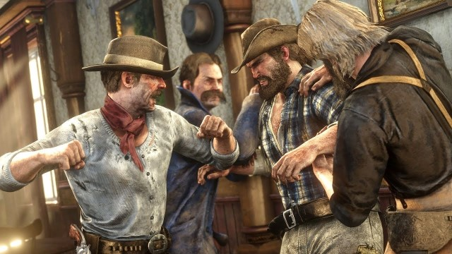 red dead online fight club