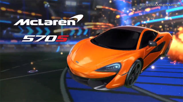 Rocket League McLaren DLC Announced