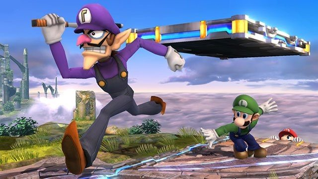 smash ultimate waluigi