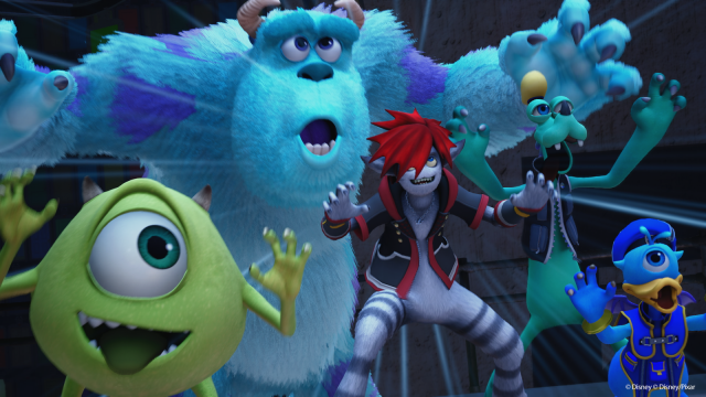 All Kingdom Hearts 3 bosses monsters inc