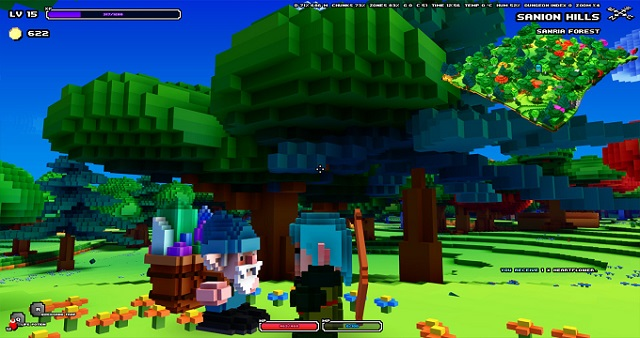 Cube World gets some new screens.