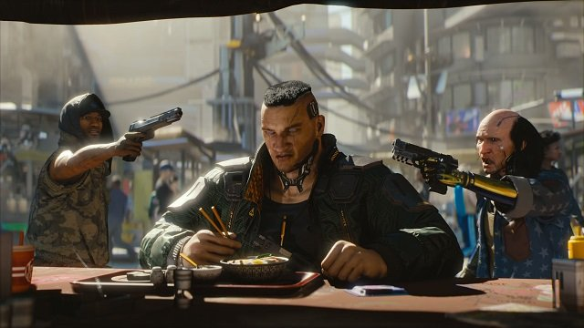 Cyberpunk 2077 development began after Witcher 3: Herts of Stone released.