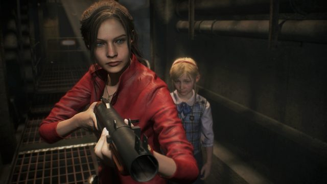 Resident Evil 2 Chemical Flamethrower Claire