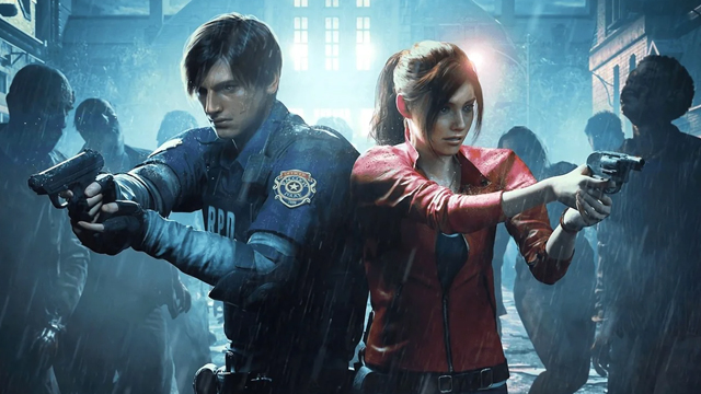 Resident Evil 2 Claire or Leon