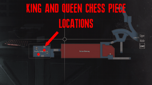 Resident Evil 2 King and Queen Chess Piece Locations