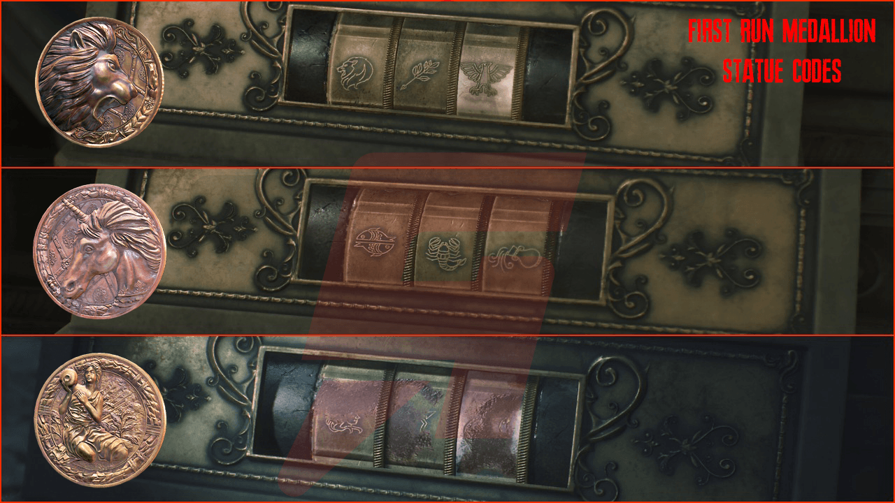Resident Evil 2 medallion codes and statue locations