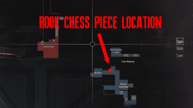 Resident Evil 2 Rook Chess Piece Location