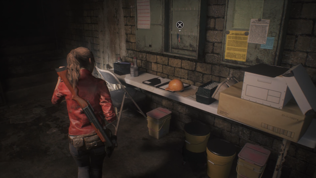 Resident Evil 2 Sewer Key Location In-Game