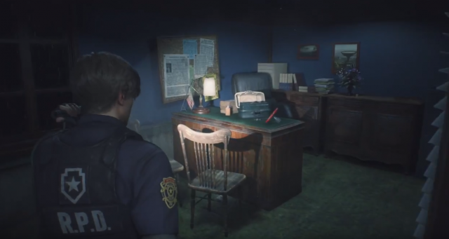 Resident Evil 2 remake valve handle
