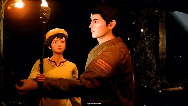 Shenmue 3 features this pretty boy.