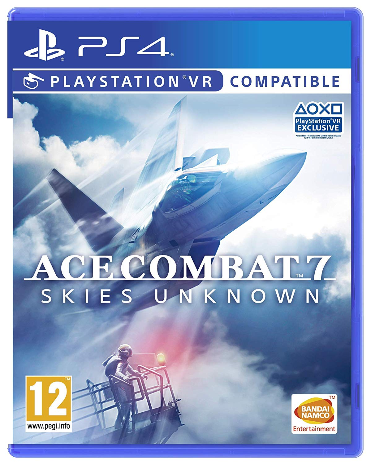 Box art - Ace Combat 7