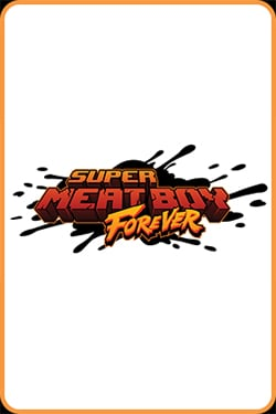Box art - Super Meat Boy Forever