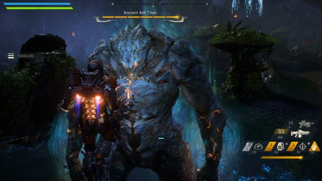 Anthem Kicked from the Forge bug enter error