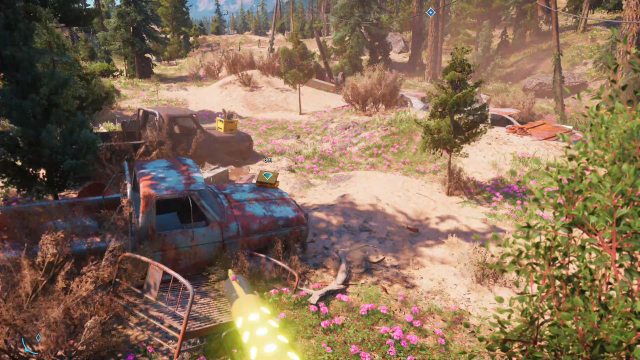 Far Cry New Dawn Target Practice treasure hunt note location