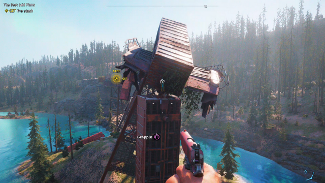 Far Cry New Dawn The Best Laid Plans treasure hunt grapple 4