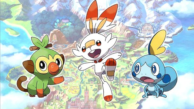 Legendaries and armored Pokemon, Switch RPGs|