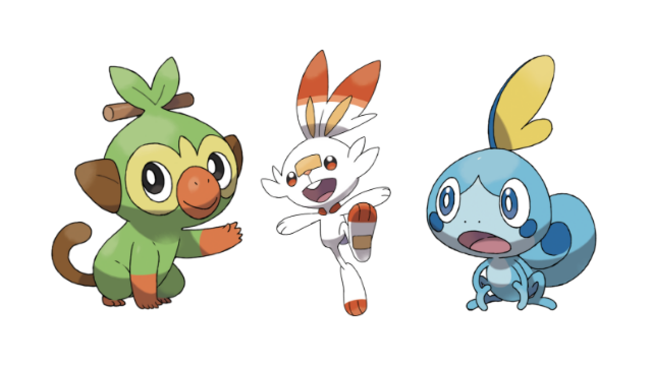 Image result for scorbunny sobble and grookey
