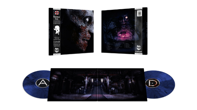 Resident Evil 1 and 2 original soundtrack vinyl records