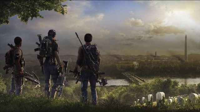 The Division 2 Beta base of operations gate glitch