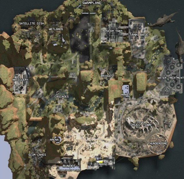 Titanfall Battle Royale Apex Legends Leaked Map