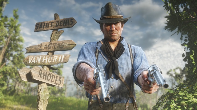 UK Charts put Red Dead Redemption 2 back on top.