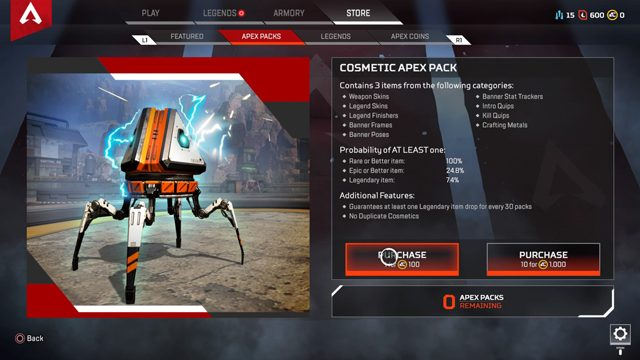 Apex Legends pay-to-win