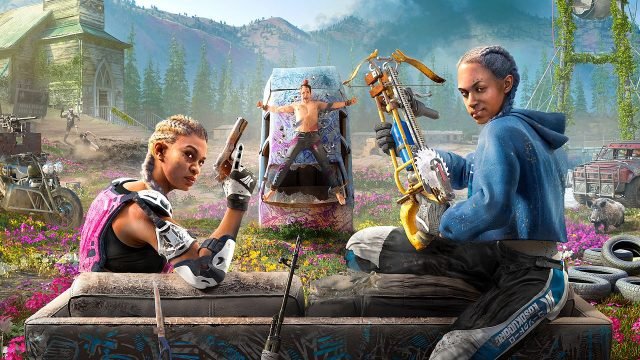 how to heal in far cry new dawn